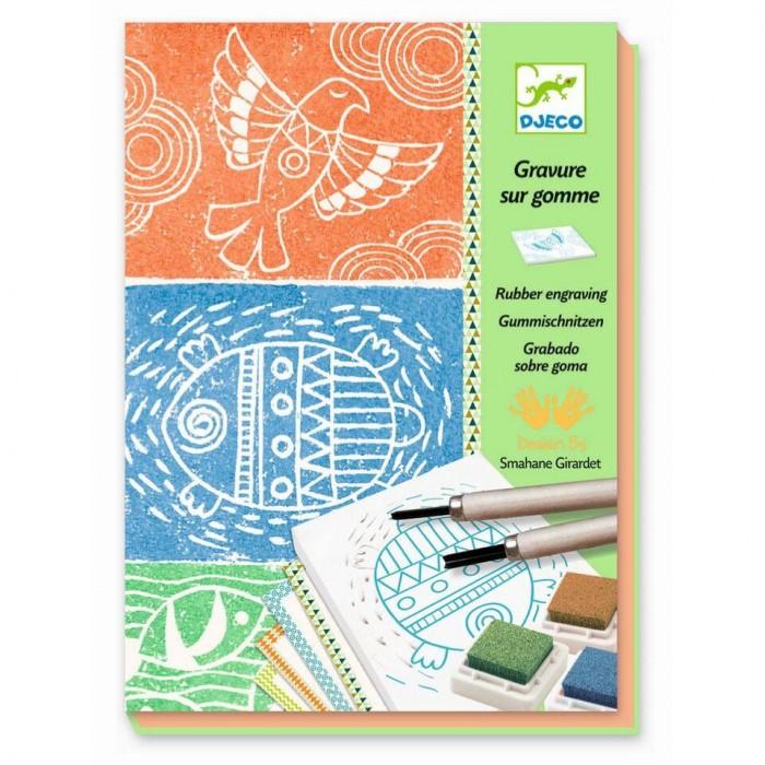 Творчество и хобби , Наборы для творчества Djeco Набор для творчества Изготовления штампов арт: 416969 -  Наборы для творчества