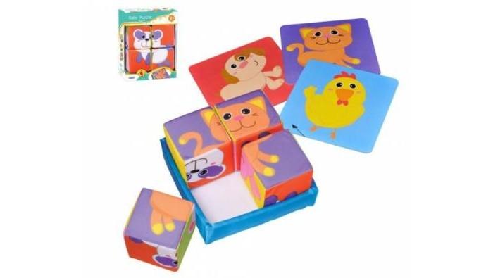 Развивающие игрушки Parkfield Мягкие кубики 81607 развивающие деревянные игрушки кубики азбука