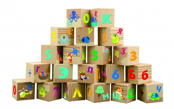 Развивающие игрушки Little Нero Мягкие кубики Буквы и цифры, Развивающие игрушки - артикул:417139