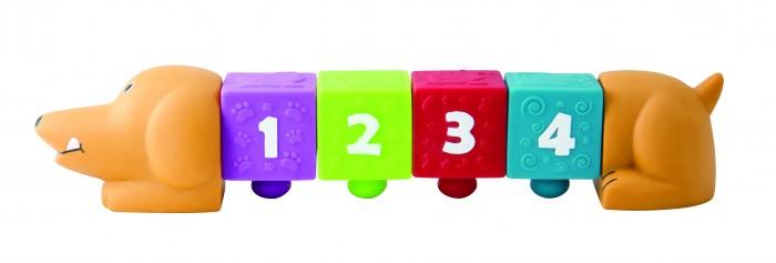 Развивающие игрушки Little Нero Собачка с кубиками развивающие игрушки little нero пирамидка собирай и катай
