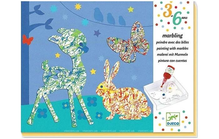 Наборы для творчества Djeco Набор для творчества Разноцветный парад набор для детского творчества набор веселая кондитерская 1 кг