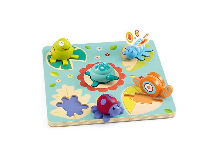Деревянные игрушки Djeco Головоломка - пазл Лило 3d головоломка бабочка 90122