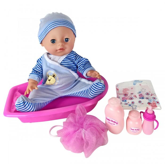 Куклы и одежда для кукол Lisa Jane Пупс с ванной 35 см 59479 куклы и одежда для кукол lisa jane пупс 25 см 59458