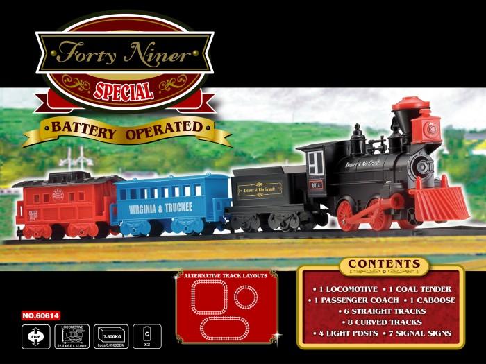 Железные дороги Eztec Железная дорога Forty Niner Special Train Set 29 частей, Железные дороги - артикул:417479