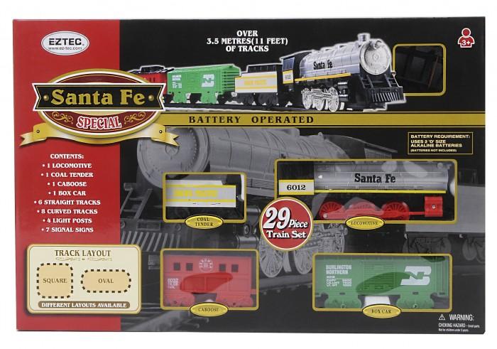 Железные дороги Eztec Железная дорога Santa Fe Special Train Set 29 частей yako железная дорога classic train y1699034