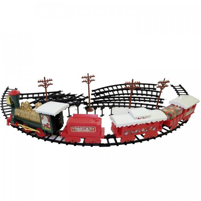 Железные дороги Eztec Железная дорога Christmas Train 29 частей модель поезда train n 1 220