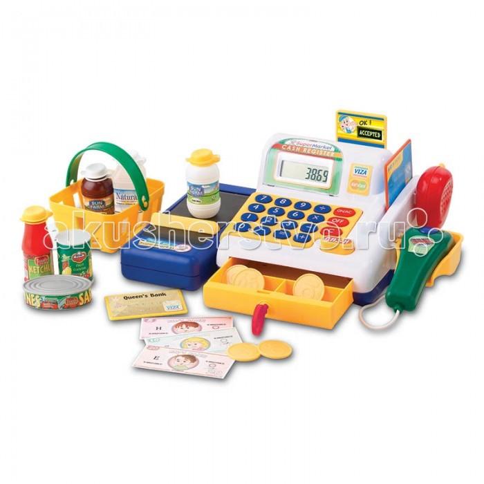 Ролевые игры Keenway Набор-кассовый аппарат с предметами игрушка музыкальная keenway набор супермаркет кассовый аппарат микрофон продукты