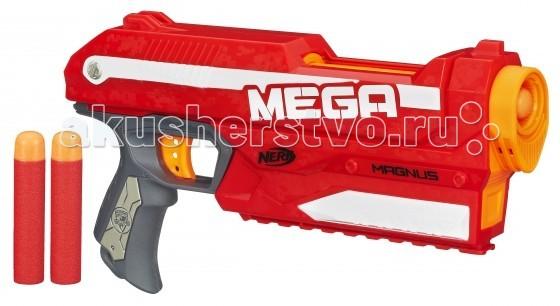 Игрушечное оружие Nerf Hasbro Бластер МЕГА Магнус набор ластиков milan 2 шт 2 320 30bl2320 10042