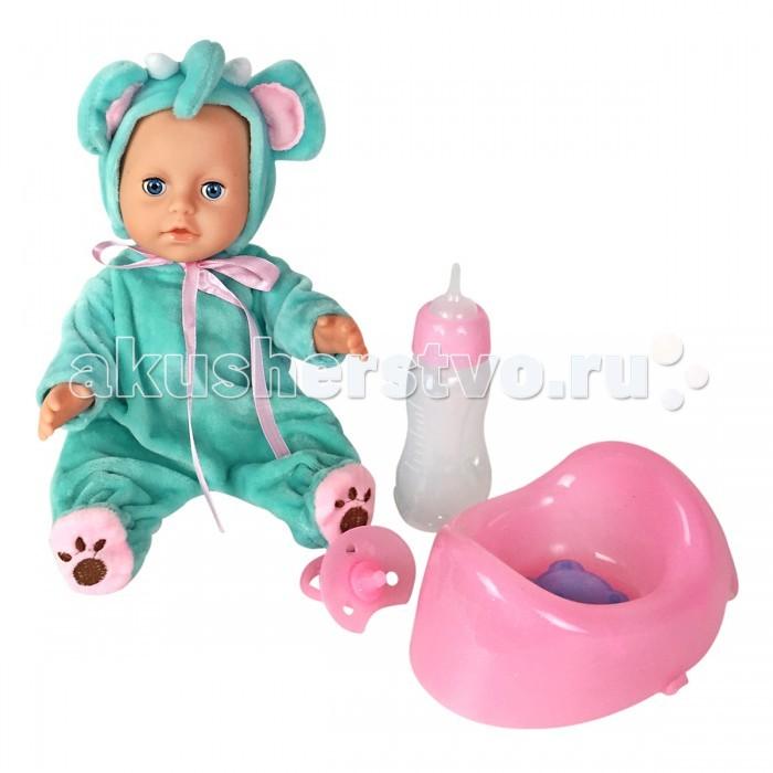 Куклы и одежда для кукол Lisa Jane Пупс с горшком 25 см 59461 куклы lisa jane кукла фарфоровая сара 18