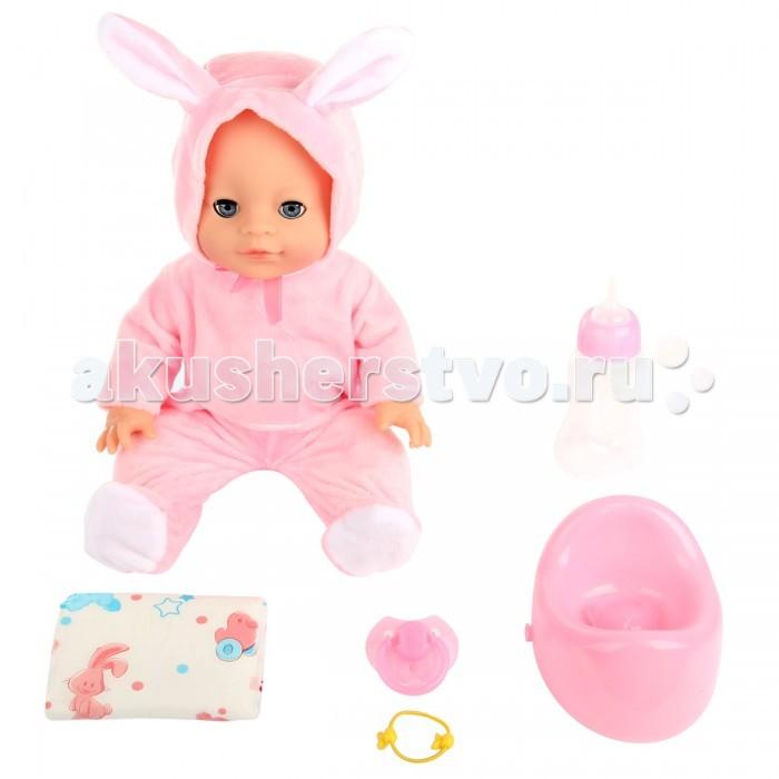 Куклы и одежда для кукол Lisa Jane Пупс с горшком 35 см 59464 куклы lisa jane кукла фарфоровая сара 18