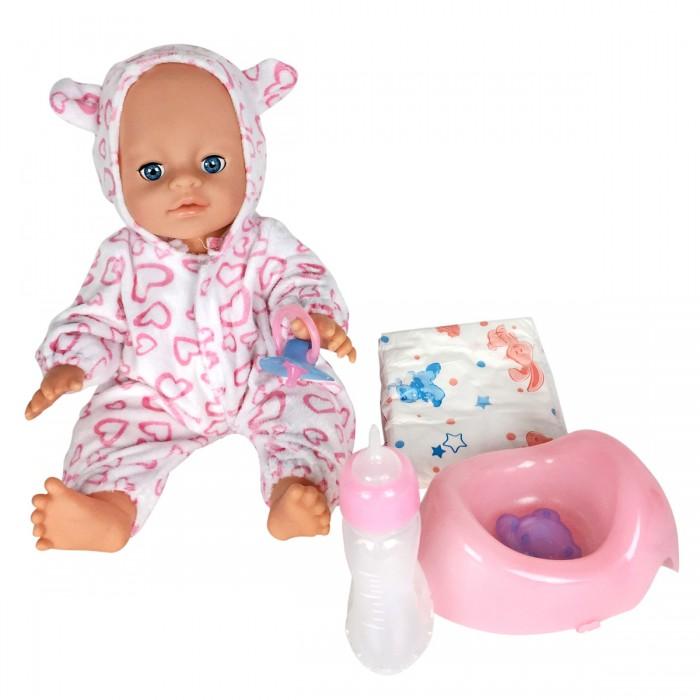Куклы и одежда для кукол Lisa Jane Пупс с горшком 35 см 59465 куклы lisa jane кукла фарфоровая сара 18