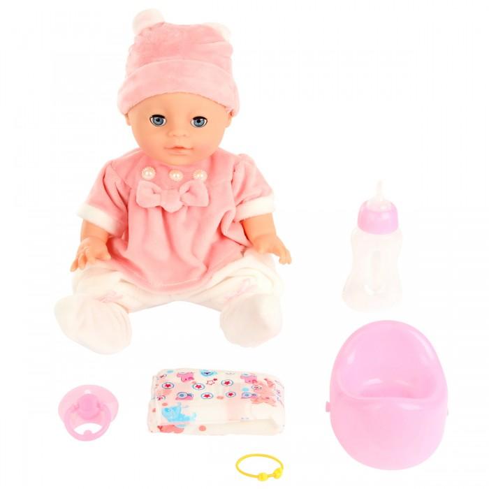 Куклы и одежда для кукол Lisa Jane Пупс с горшком 35 см 59466 lisa jane пупс с ванной цвет голубой 35 см 59479