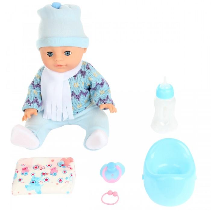 Куклы и одежда для кукол Lisa Jane Пупс с горшком 35 см 59467 куклы lisa jane кукла фарфоровая сара 18
