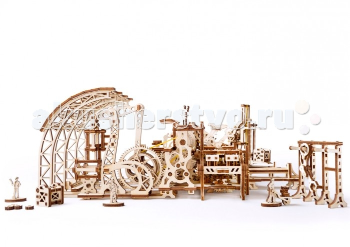 Конструкторы Ugears 3D-Пазл Фабрика роботов modeling and control of distributed generation based micro grids