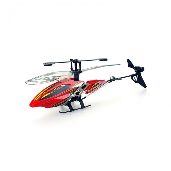 Silverlit 3-х канальный вертолет Вихрь3-х канальный вертолет ВихрьВертолет Вихрь – отличная игрушка для детей и их родителей 3-х канальный вертолет Вихрь оснащен инфракрасным управлением и обязательно станет одной из самых любимых игрушек малыша.  Играть с вертолетом можно в помещении, в котором имеется достаточное свободное пространство.  В комплектации находятся вертолет, пульт управления, зарядное устройство и инструкция. Габариты вертолета от Silverlit составляют 19*4*10,5 см, длина несущих винтов достигает 19,5 см. Встроенный гидроскоп позволяет игрушке держать заданную высоту и стабилизировать полет. Вертолеты на р/у оснащены многочисленными функциями – они летают вверх и вниз, поворачивают направо и налево, могут вращаться на месте, но кроме этого, у них есть еще и особая функция – турбо-ускорение.  Проблесковые огни позволяют вертолету летать в темноте. Эти радиоуправляемые игрушки оснащены встроенным аккумулятором, который может подзаряжаться с помощью USB-кабеля как от компьютера, так и от пульта управления, при этом имеется защита от перезарядки. Чтобы игрушка полностью подзарядилась, необходимо 45 минут, после чего она может работать на протяжении 10 минут.   Легкий и в то же время прочный корпус игрушки не повредит мебель в помещении, а при ударе или падении риск повреждения самого вертолета является минимальным. Радиус действия пульта составляет 15 метров. Для работы пульта дополнительно следует приобрести 6 батареек АА, которых нет в комплектации.   Продукция сертифицирована, экологически безопасна для ребенка, использованные красители не токсичны и гипоаллергенны.<br>