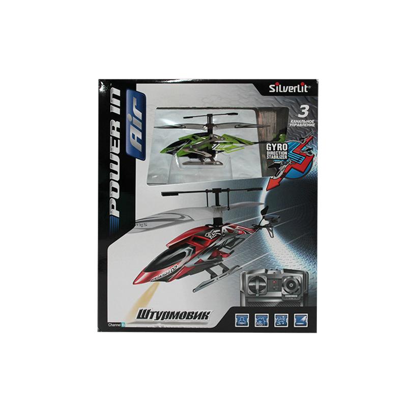 Вертолеты и самолеты Silverlit 3-х канальный вертолет Штурмовик, Вертолеты и самолеты - артикул:41811
