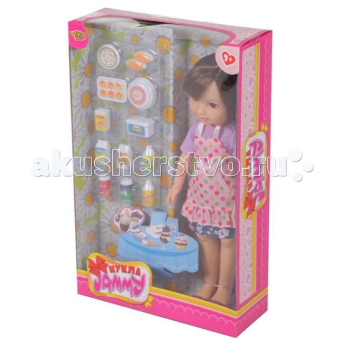 Куклы и одежда для кукол Yako Кукла Jammy 32 см Повар M6312 игра yako кухня y18614127