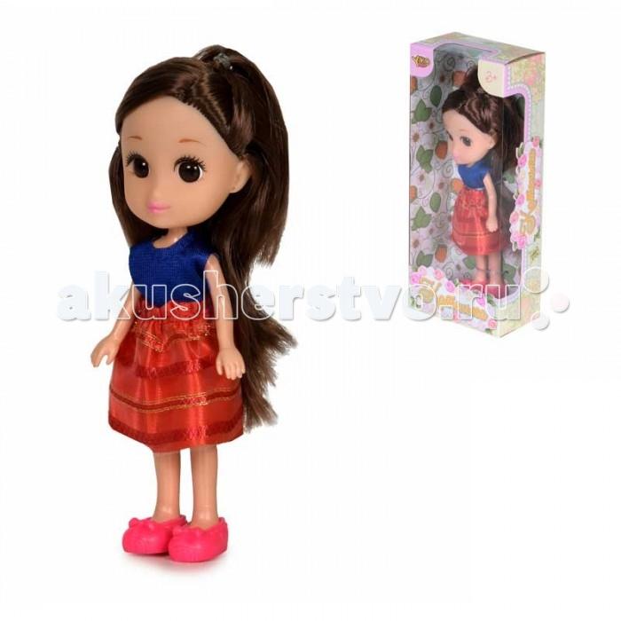 Куклы и одежда для кукол Yako Кукла Катенька 16,5 см M6617 игра yako кухня y18614127