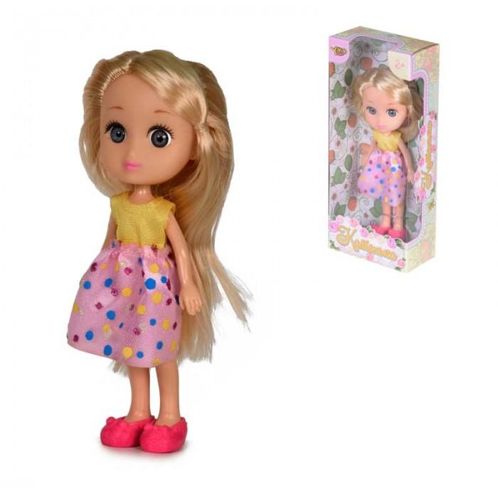Куклы и одежда для кукол Yako Кукла Катенька 16,5 см M6618 куклы и одежда для кукол yako кукла софи m6579 4