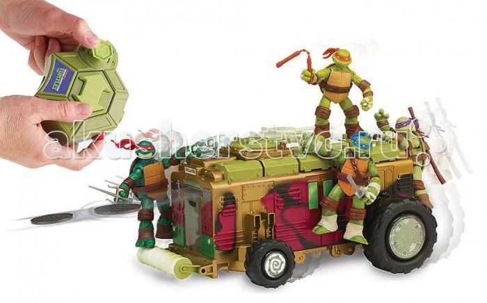 Игровые наборы Turtles Вагон метро на ДУ Черепашки Ниндзя (без фигурок) игровые наборы turtles мотодельтаплан черепашки ниндзя без фигурки