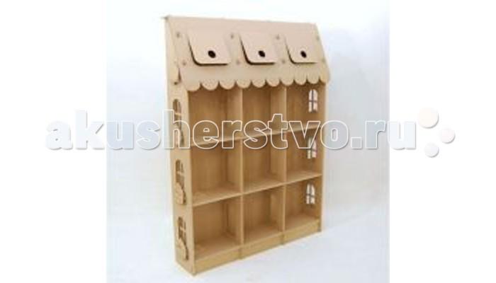 Летние товары , Игровые домики Картонный папа Домик из картона Стеллаж для игрушек арт: 418679 -  Игровые домики