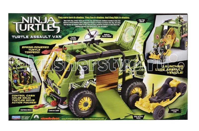 Игровые наборы Turtles Штурмовая машина Черепашки Ниндзя (без фигурки) Movie Line игровые наборы turtles гидроцикл черепашки ниндзя