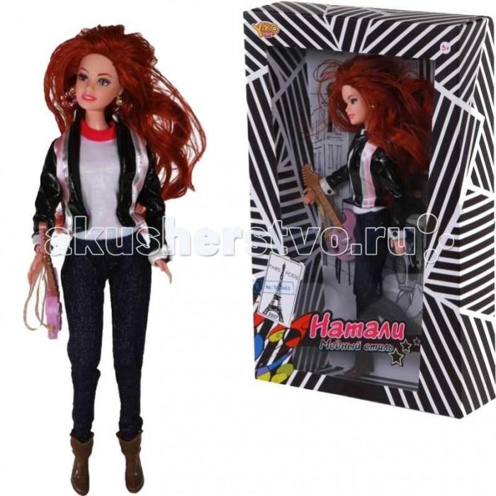 Куклы и одежда для кукол Yako Кукла Натали M6576-1 куклы и одежда для кукол yako кукла софи m6579 4