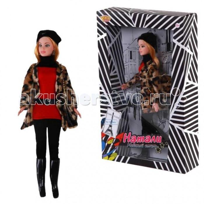Куклы и одежда для кукол Yako Кукла Натали M6576-2 yako кукла натали m6576 12