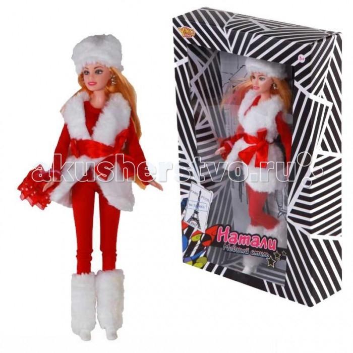 Куклы и одежда для кукол Yako Кукла Натали M6576-3 куклы и одежда для кукол yako кукла катенька 16 5 см m6618