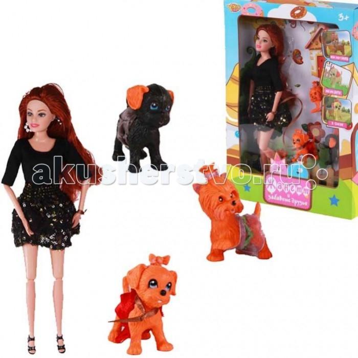 Куклы и одежда для кукол Yako Кукла Жанетт и забавные друзья M6583-1