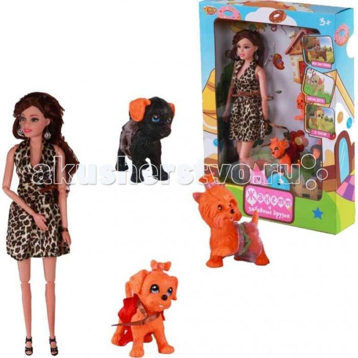 Куклы и одежда для кукол Yako Кукла Жанетт M6583-2