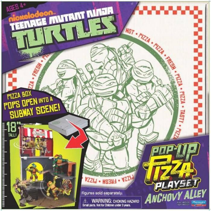 Игровые наборы Turtles Игровой набор Анчоусная аллея игровой набор playmates toys патрульные багги леонардо и донателло