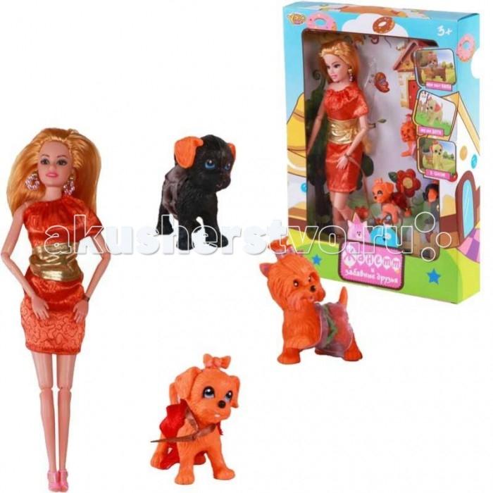 Куклы и одежда для кукол Yako Кукла Жанетт M6583-6 одежда обувь и аксессуары