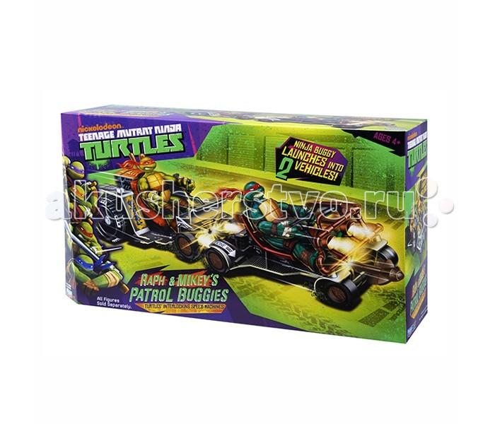 Игровые наборы Turtles Патрульные Багги (Раф и Микки)