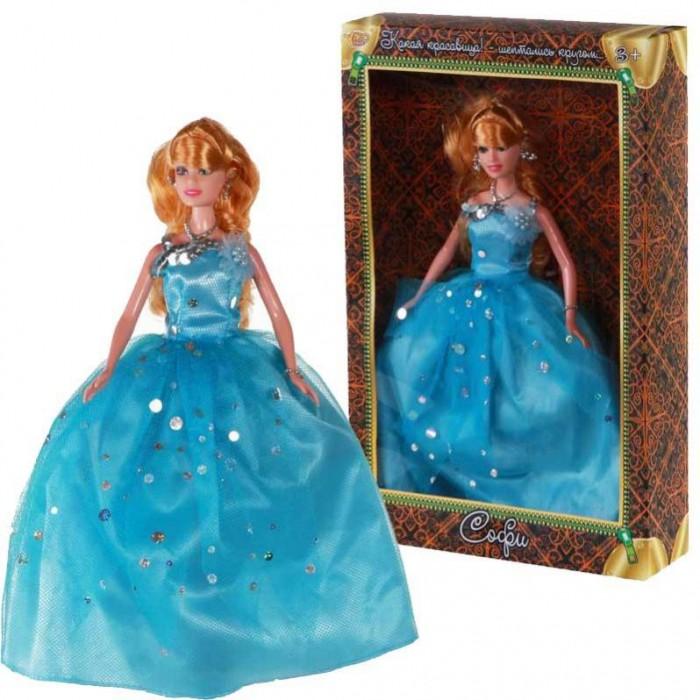 Куклы и одежда для кукол Yako Кукла Софи M6586-1 куклы и одежда для кукол gulliver кукла апельсинка в платье с сердечками