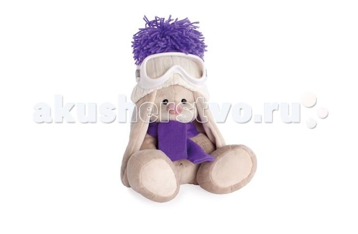 Фото Мягкие игрушки Budi Basa Зайка Ми лыжник большая 23 см