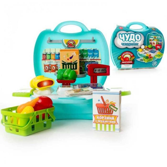 Ролевые игры ABtoys Чудо-чемоданчик Овощной магазин 23 предмета муксун в москве магазин