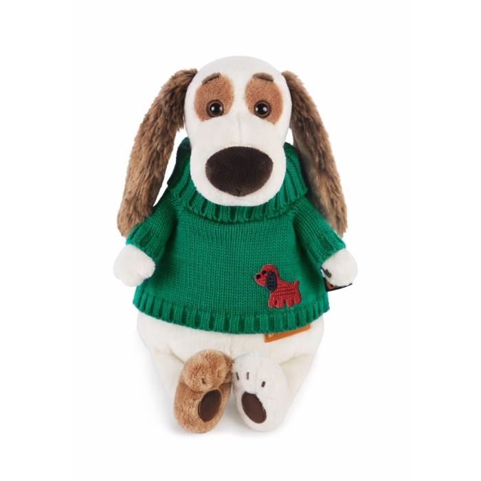 Мягкие игрушки Budi Basa Бартоломей в зеленом свитере 27 см, Мягкие игрушки - артикул:419809