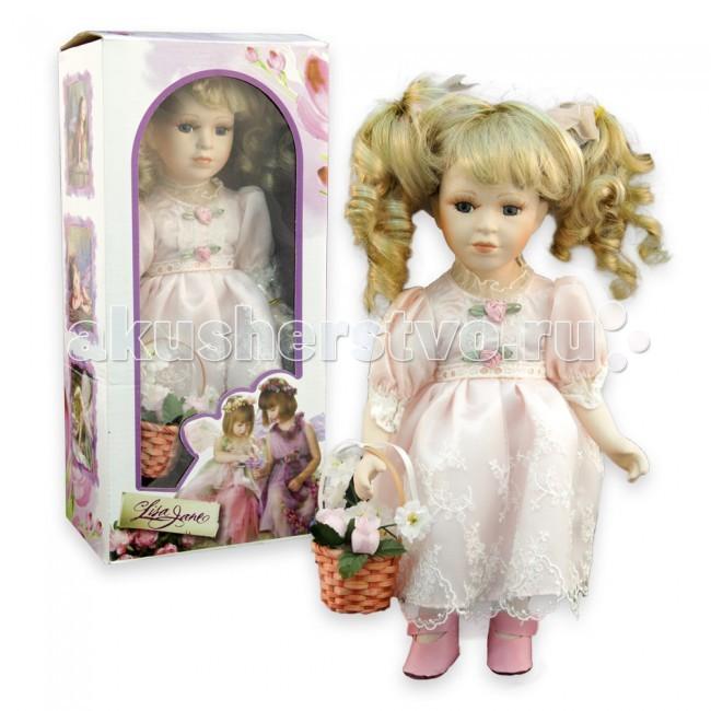Куклы и одежда для кукол Lisa Jane Кукла фарфоровая Алла 12 30.5 см куклы lisa jane кукла фарфоровая ребекка