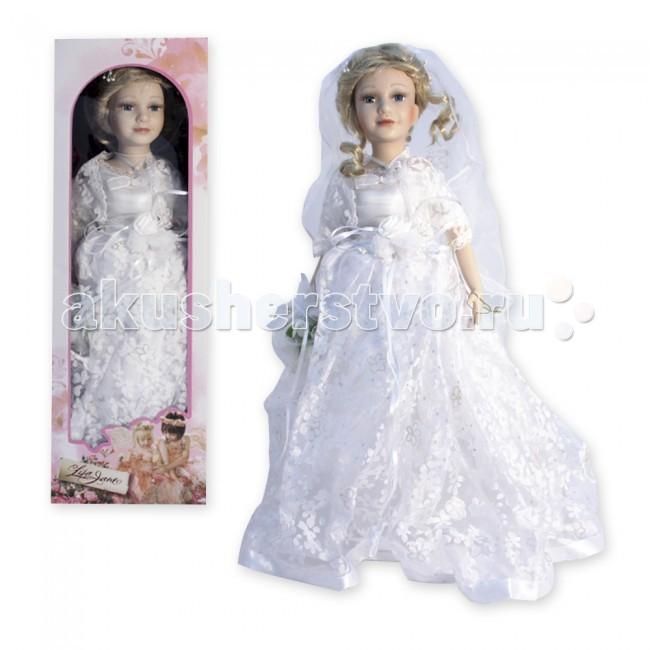 Куклы и одежда для кукол Lisa Jane Кукла фарфоровая Анастасия 18 45.7 см куклы lisa jane кукла фарфоровая ребекка