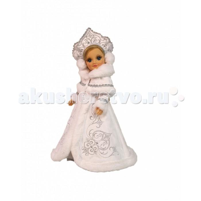Куклы и одежда для кукол Весна Кукла Анастасия Снегурочка озвученная 42 см весна весна кукла интерактивная саша 2 озвученная 42 см