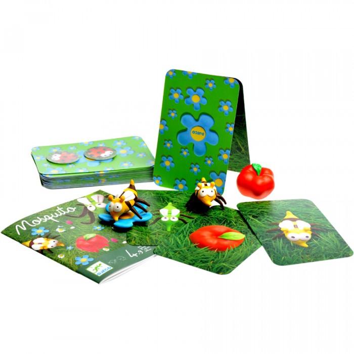 Настольные игры Djeco Настольная игра Москито игры для малышей djeco детская настольная карточная игра мини семья