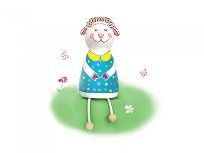 Раскраски Шар-папье Набор для творчества Овечка набор д детского творчества шар набор шар папье медвежонок