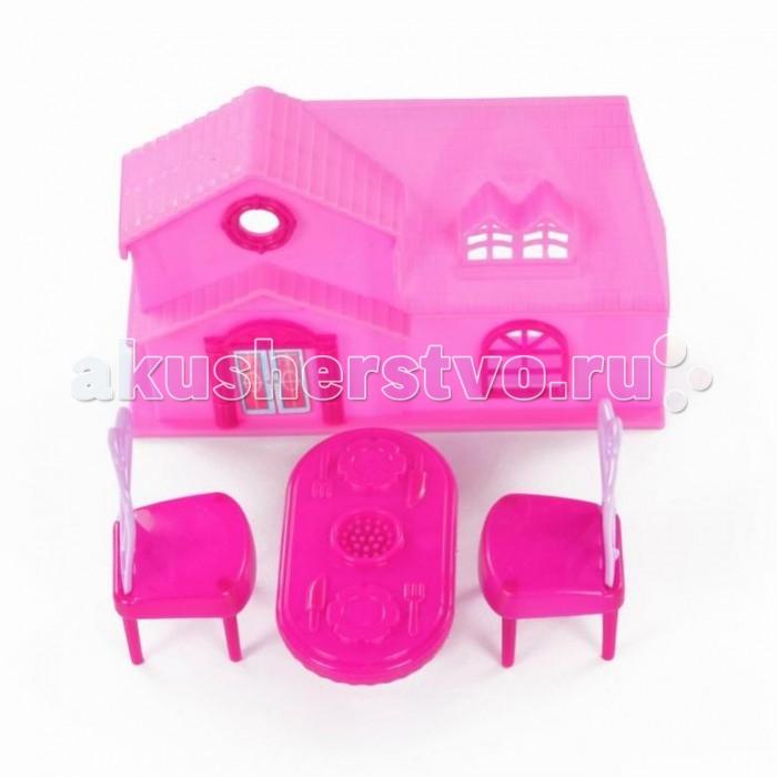 Кукольные домики и мебель Yako Набор мебели с домиком M6188 игровые наборы yako набор мебели кухня