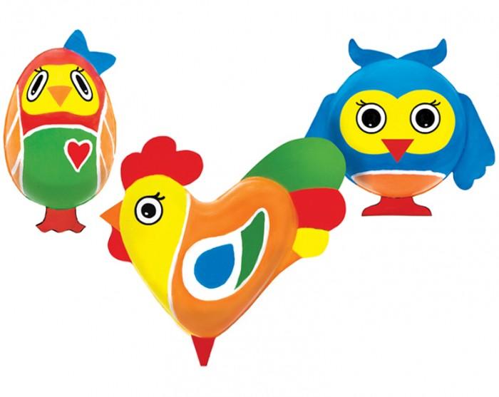 Раскраски Шар-папье Набор для творчества Магнит Птички шар папье набор для раскрашивания панда из шар папье