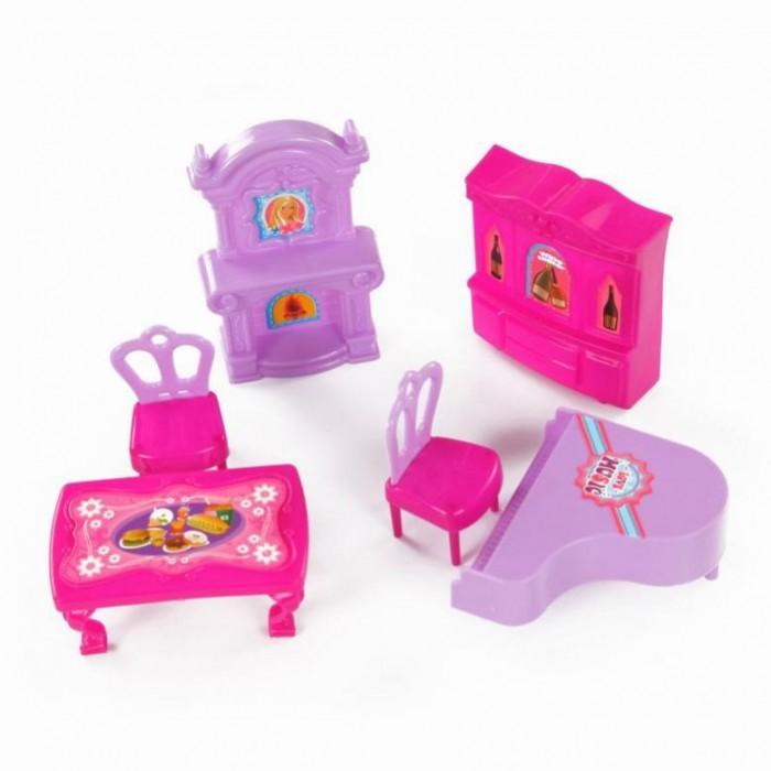 Кукольные домики и мебель Yako Набор Мебель у камина M6191 кукольные домики и мебель s s toys мебель для куклы в наборе es sr2236