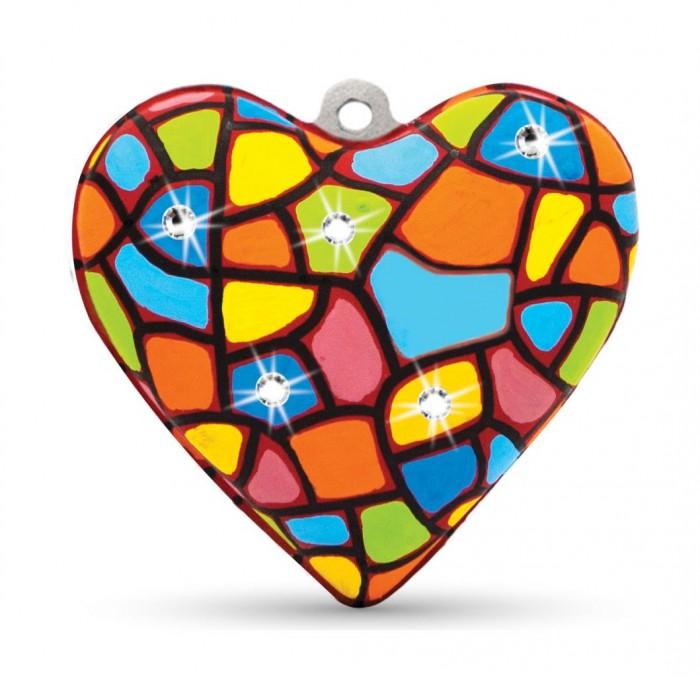 Раскраски Шар-папье Набор для творчества Сердце в коробке со стразами набор для творчества тм vladi раскраски глиттером сова