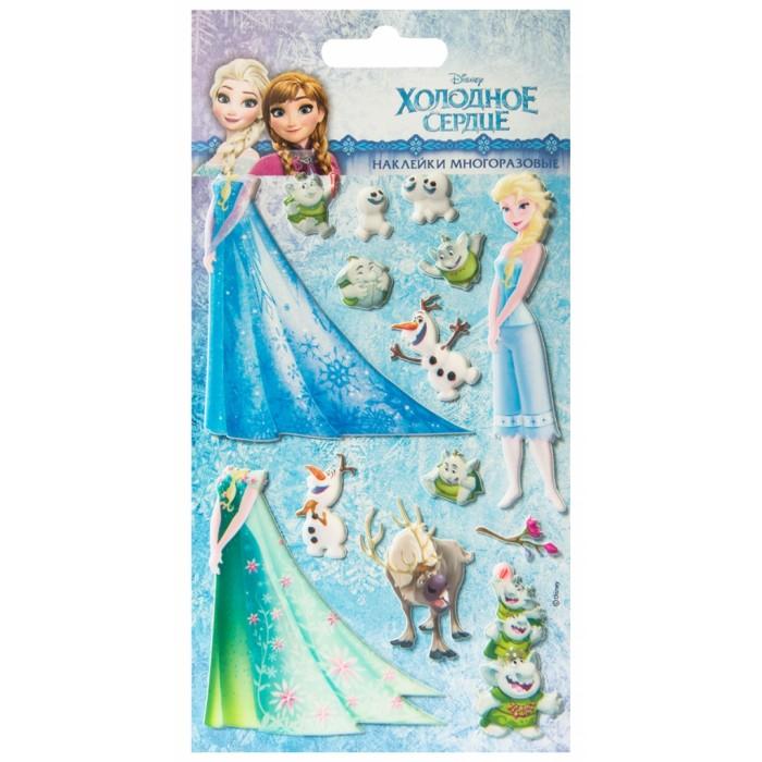 Детские наклейки Липляндия Набор наклеек Дисней Холодное сердце 2 наклейки детские disney набор наклеек принцессы дисней 2