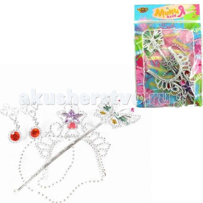 Товары для праздника Yako Набор украшений Принцесса M6176 игровые наборы yako набор мебели кухня