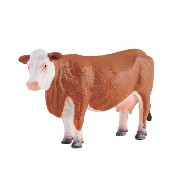 Игровые фигурки Gulliver Collecta Фигурка Херефордская корова 10 см exetera argenti фигурка firesse 9х10х19 см
